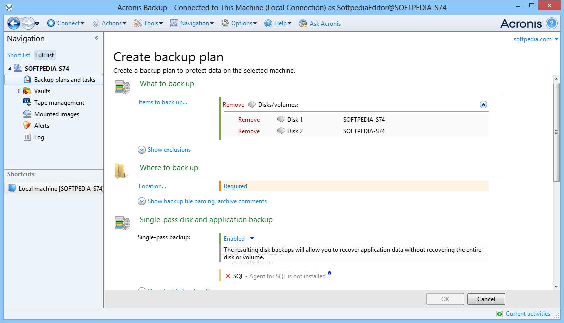 Acronis Backup Advanced License Key