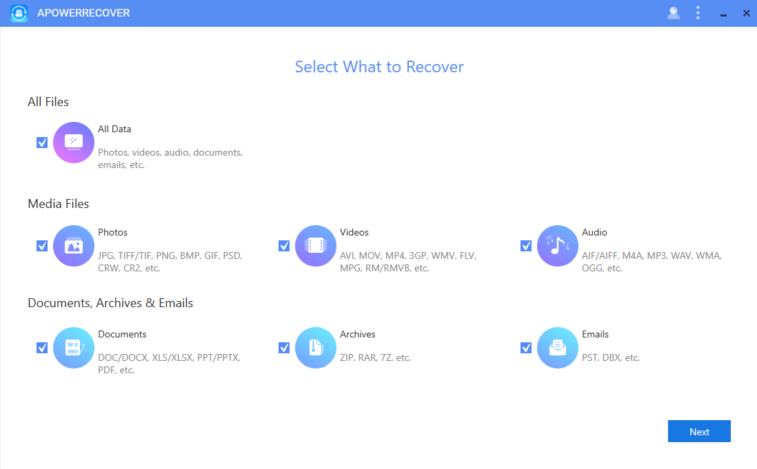 Apowersoft ApowerRecover VIP Account