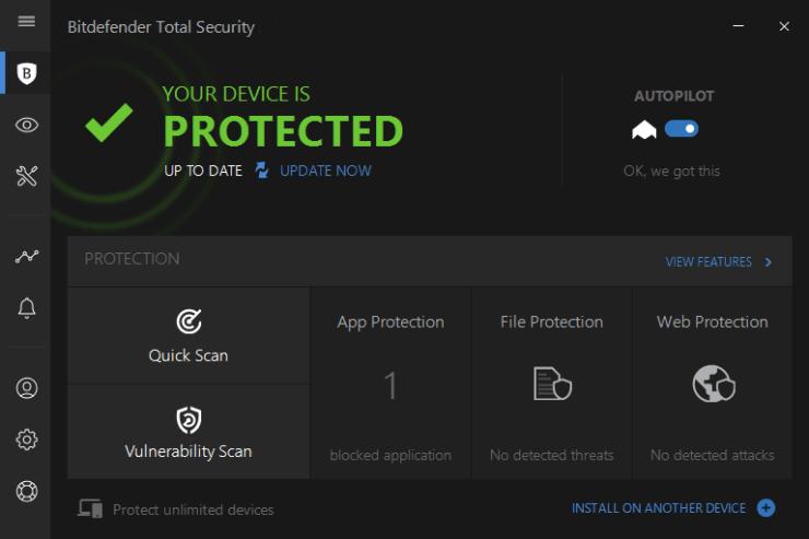 Bitdefender Total Security 2017 License Key