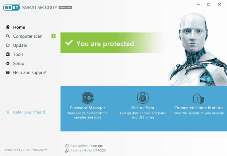 ESET Smart Security Premium 11License Key