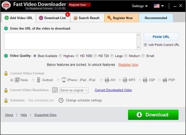 Fast Video Downloader Serial Key