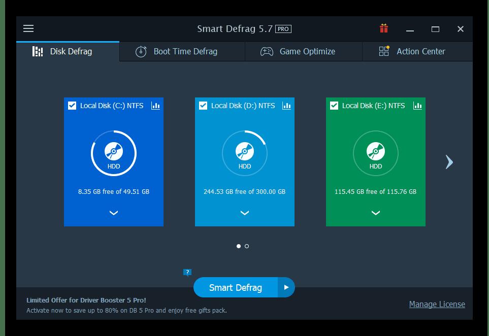 IObit Smart Defrag Pro 6.5 Key