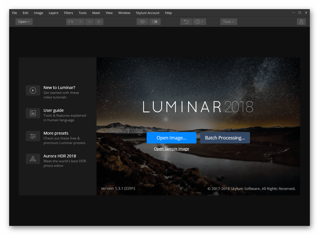 Luminar 2020 Full Version