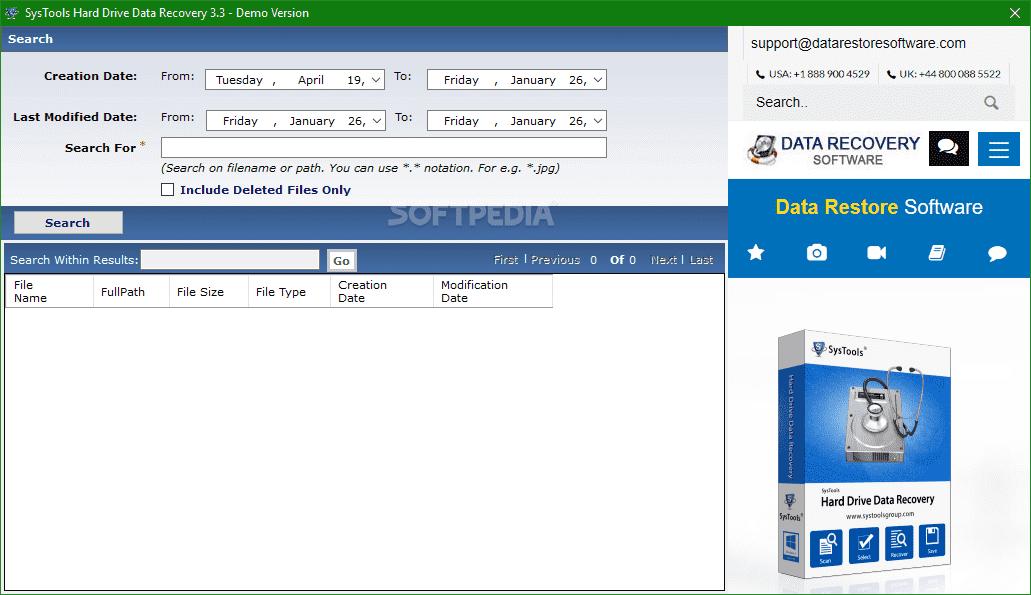 SysTools Hard Drive Data Recovery Serial key