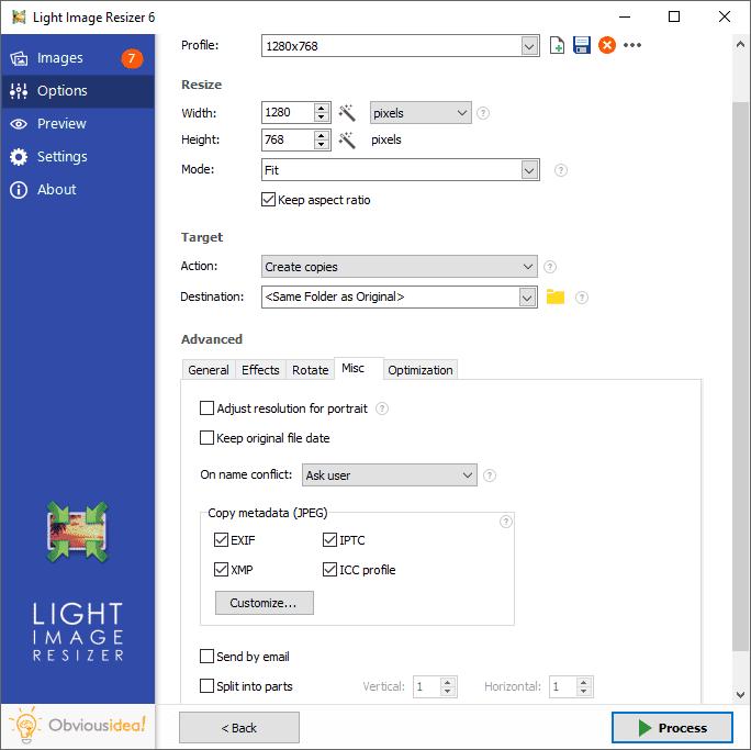 Light Image Resizer Serial Key